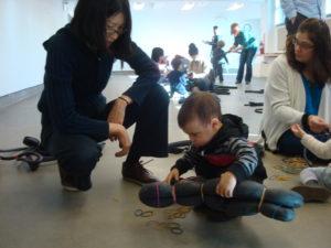 Open studio Noguchi museum New York, 2014